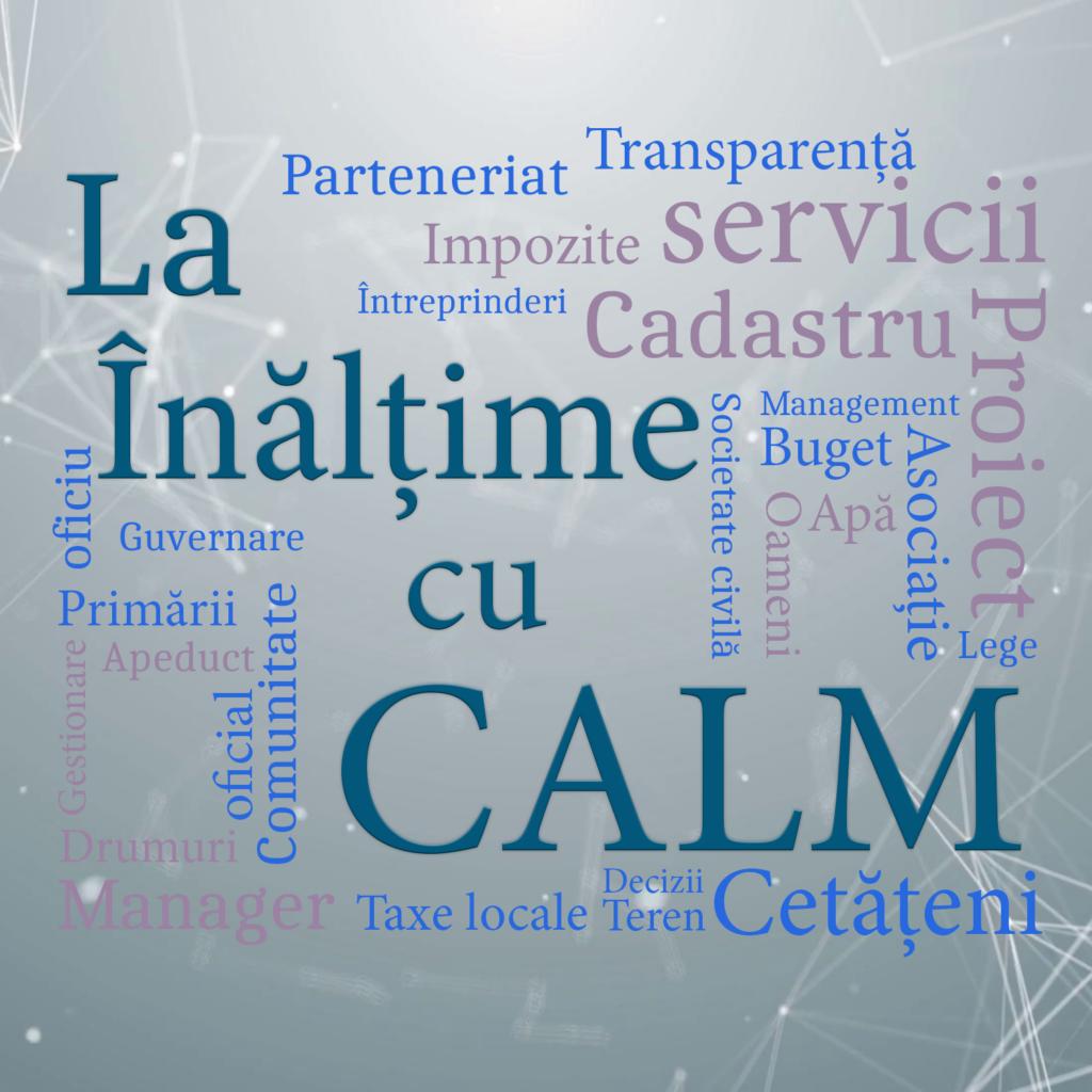 La înălțime cu CALM 28.03.2020