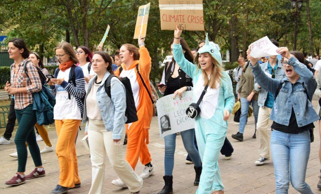Regiunea balcanică protestează pentru un aer curat