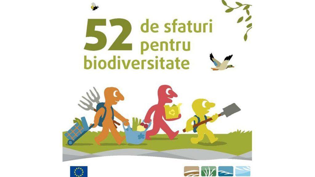 52 de sfaturi pentru biodiversitate