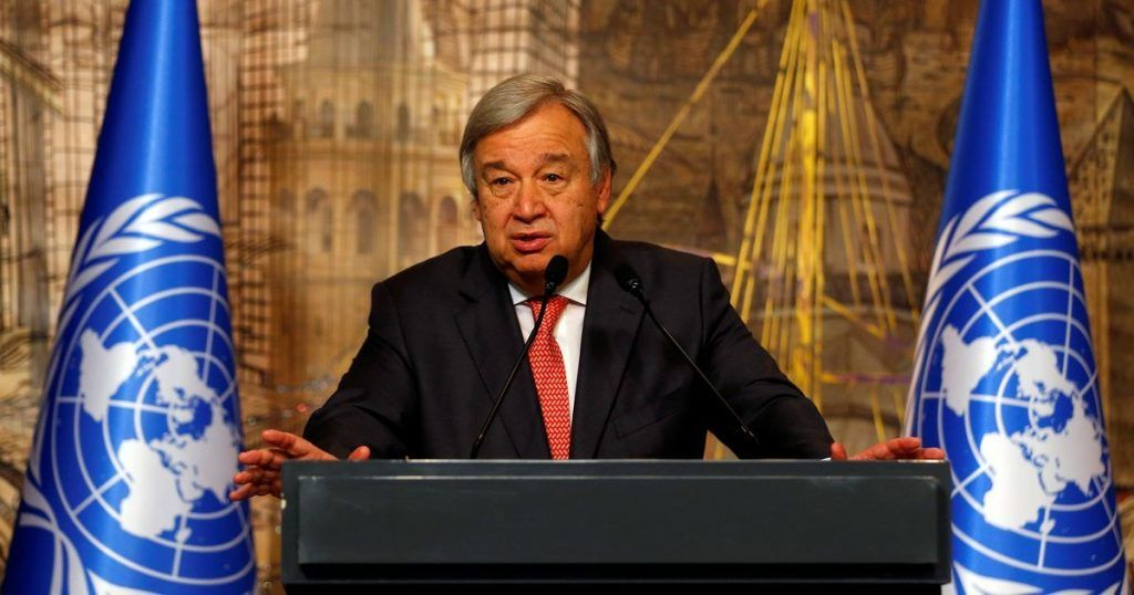 Secretarul general al ONU a cerut tuturor țărilor să prezinte planuri de reducere a emisiilor de gaze cu efect de seră