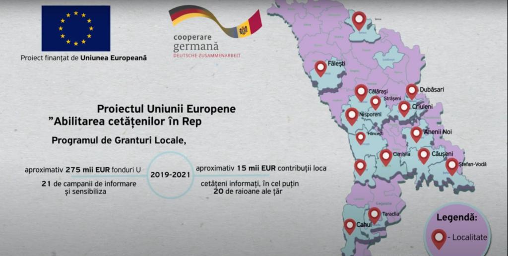 UE//Abilitarea cetățenilor în Republica Moldova, Spot API