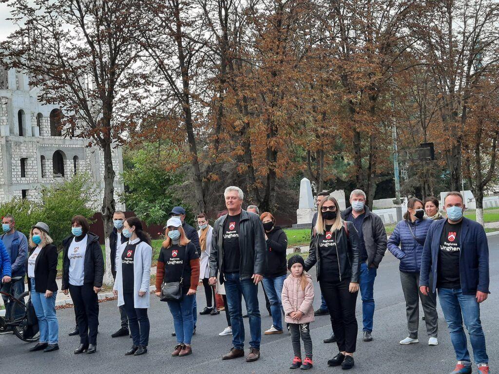 Municipiul Ungheni s-a alăturat pentru a doua oară Săptămânii Europene a Mobilității
