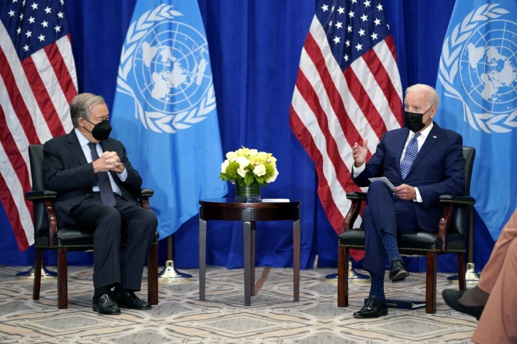 Biden și Guterres au discutat despre pandemie, climă și prevenirea conflictelor