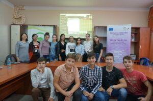 Participanții la instruirea din or. Ștefan Vodă